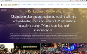 40 years Dr. C Leonard Coldwell