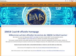 IBMS Coach