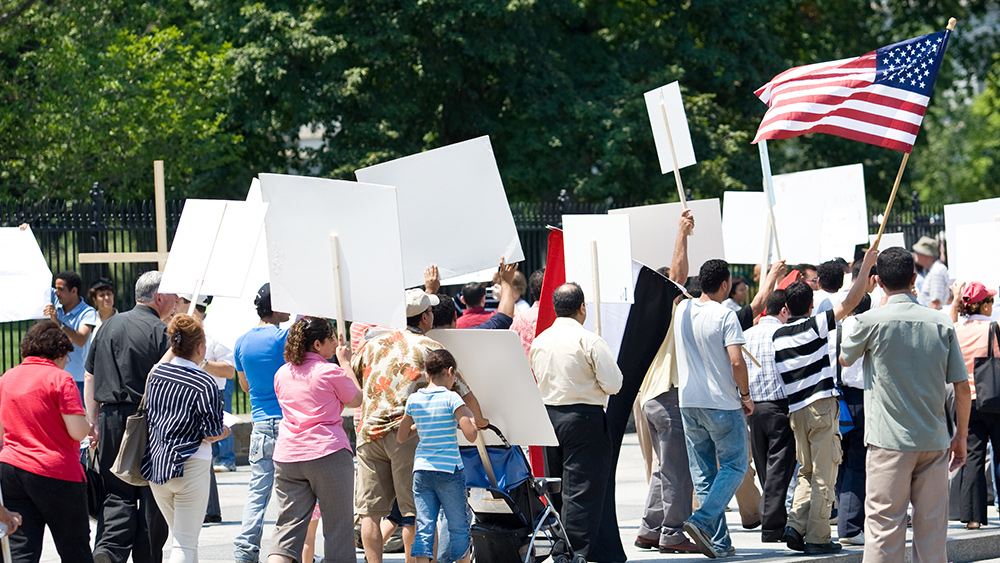 People protesting stay-at-home orders across America