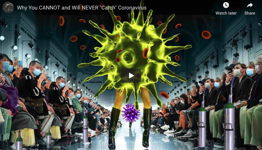 """Why You CANNOT and Will NEVER """"Catch"""" Coronavirus"""