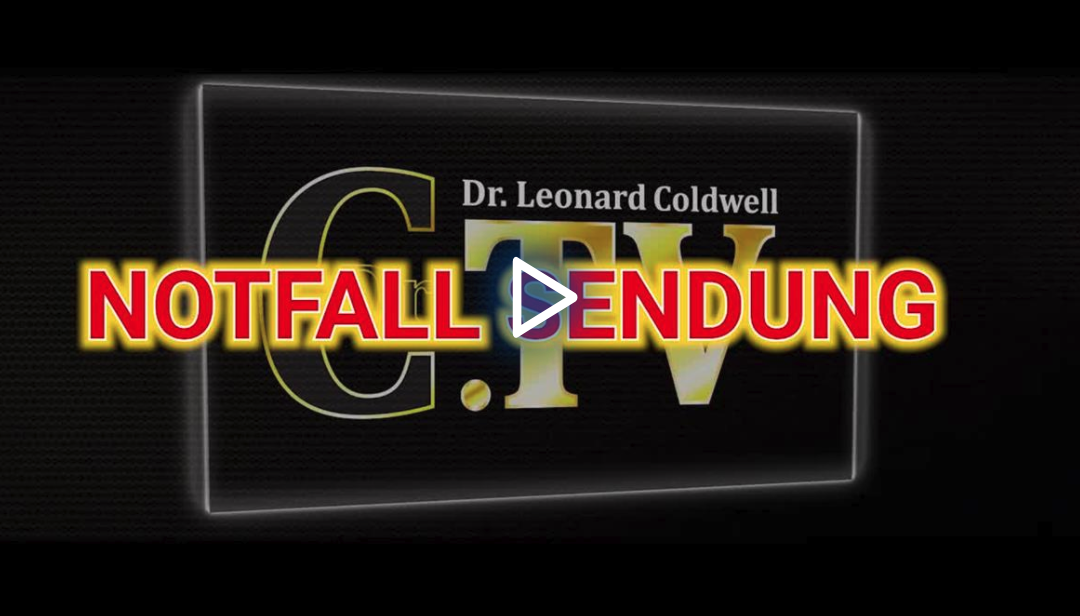 Dr. Coldwell`s Corona Hoax Notfall Video