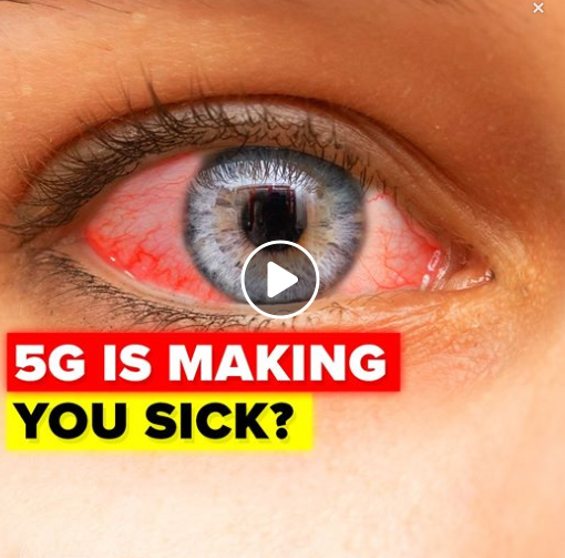 Proof that 5G is making us all sick
