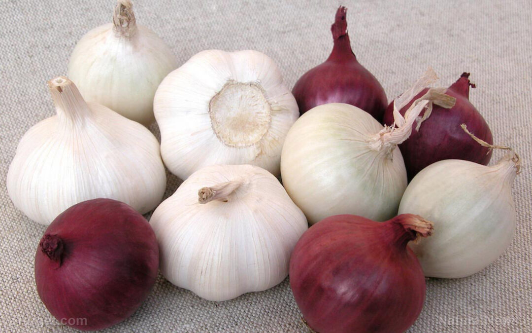 Reduce your risk of breast cancer by eating more onions and garlic: Research