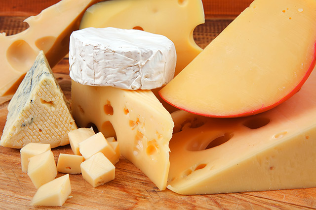 Natural antioxidants in cheese can protect your blood vessels from damage caused by high-salt diets