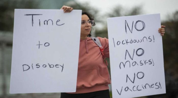 Houston Stands Up To Mandatory Vaccines And Lockdowns