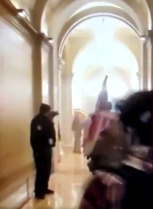 PROOF the Capitol Break in was STAGED! VIDEOS