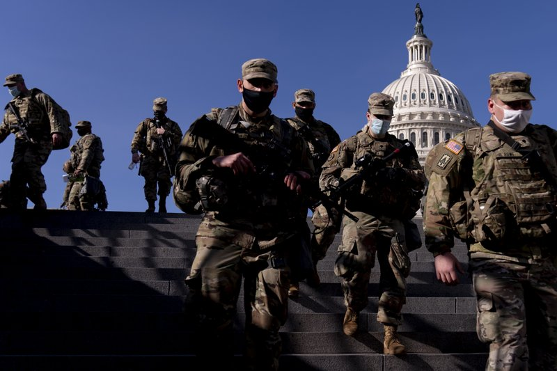 UPDATE JAN 16th – D.C. Is not preparing for Inauguration, they are preparing for war.