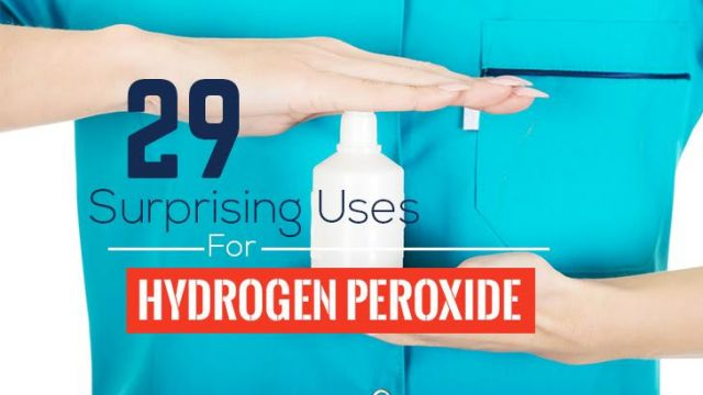 29 Surprising Uses For Hydrogen Peroxide