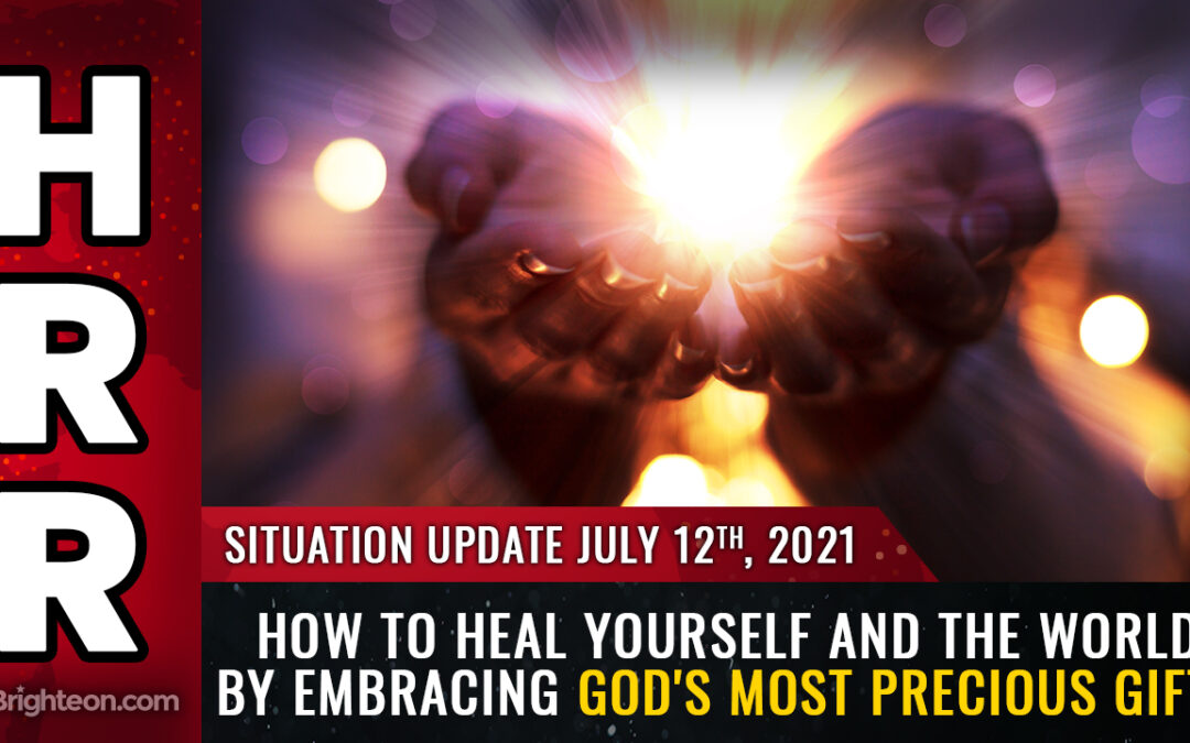 How to HEAL yourself and the world by embracing God's most precious gifts