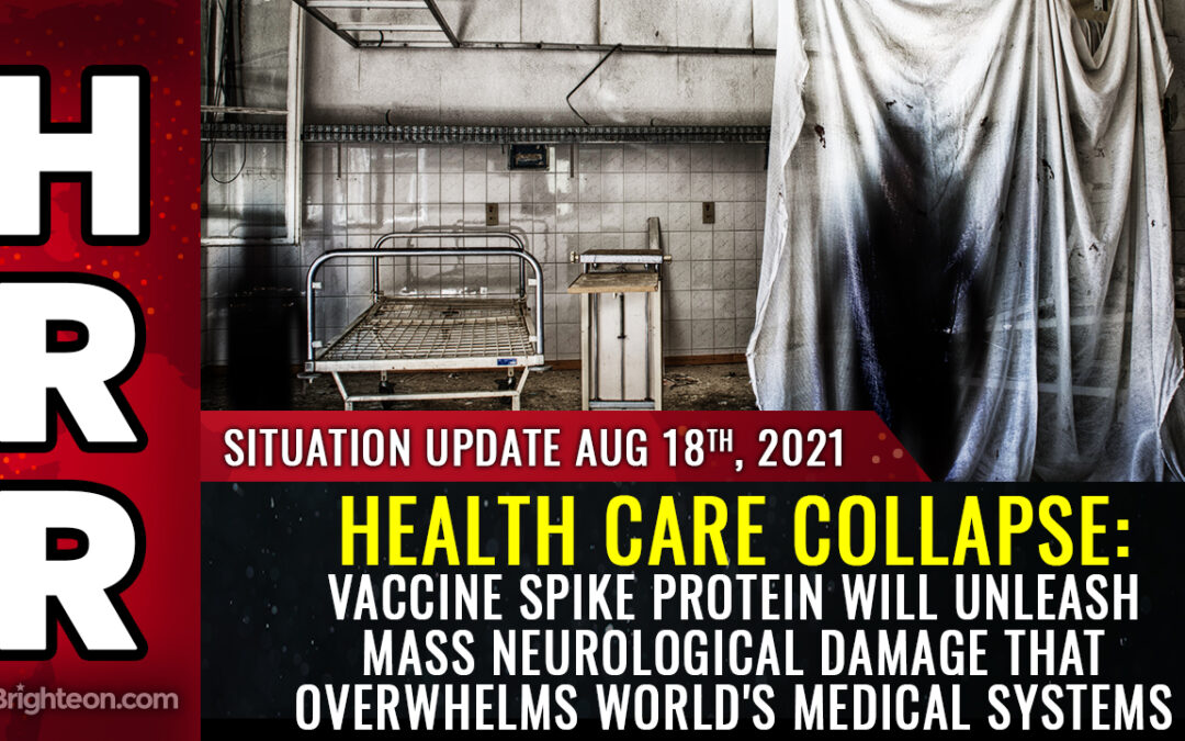 HEALTH CARE COLLAPSE warning: Vaccine spike protein will unleash widespread neurological damage that overwhelms world's medical systems