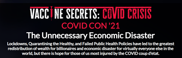 """Vaccine Secrets: COVID Crisis"" — Free Online Seminar September 28"