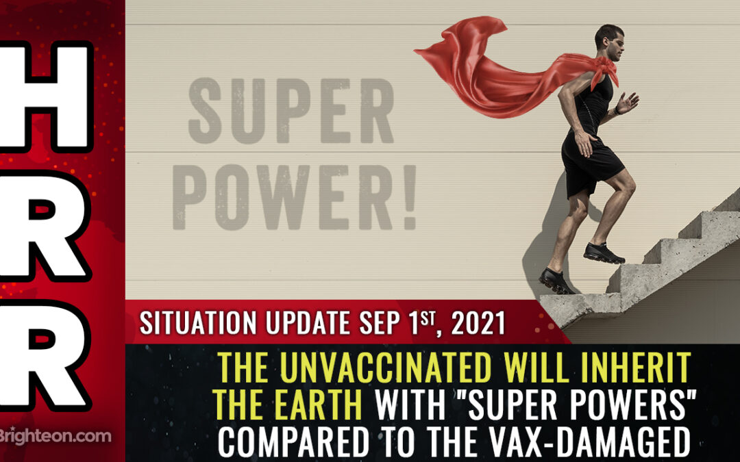 """The world will soon be divided between the DAMAGED vaccinated and the undamaged, """"super powered"""" unvaccinated who will inherit the Earth"""