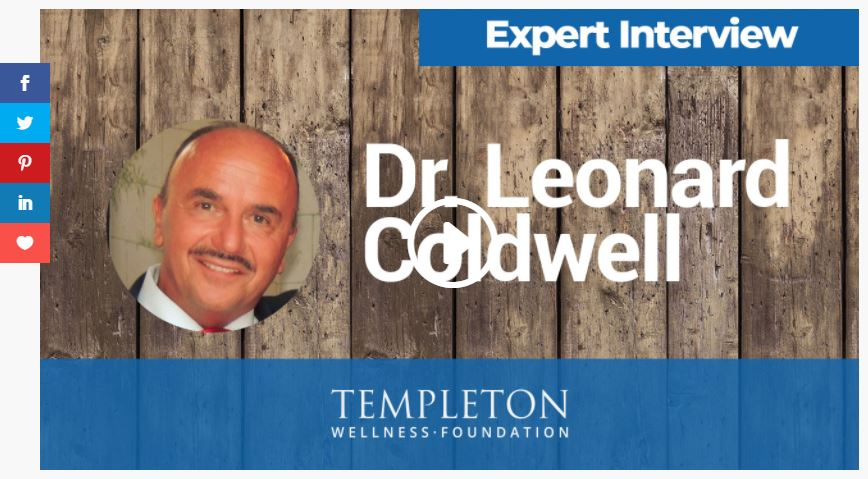 NEW INTERVIEW: Dr. Coldwell for Templeton Wellness Group 2021