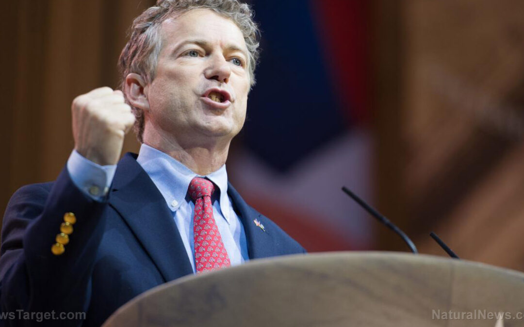 Rand Paul: Americans should 'be afraid of your government'